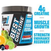 BPI Sports Best Creatine Powder, Fruit Punch, 50 Servings