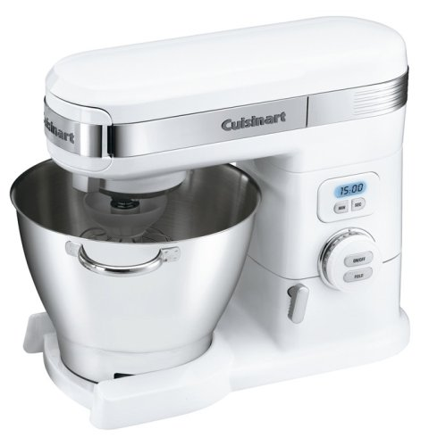 Cuisinart SM-55 Mix 5-1/2-quart Stand Mixers/ White