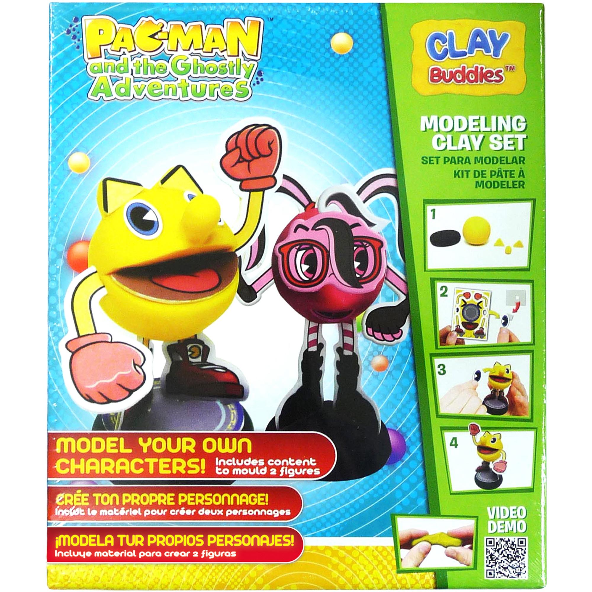 Pac Man Clay Buddies Starter Pack