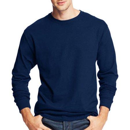 Hound Long Sleeved T-shirt (Hanes Men's Tagless Comfortsoft Long-sleeve T-shirt)