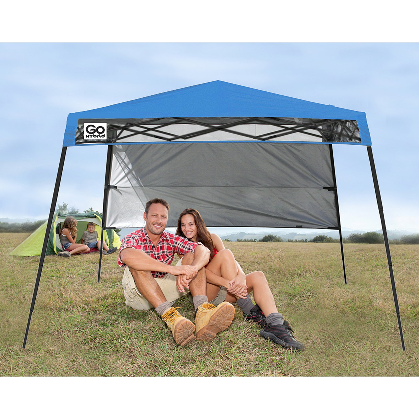Quik Shade Go Hybrid Slant Leg 7'x7' Instant Canopy (36 sq. ft. coverage) by ShelterLogic Corp.