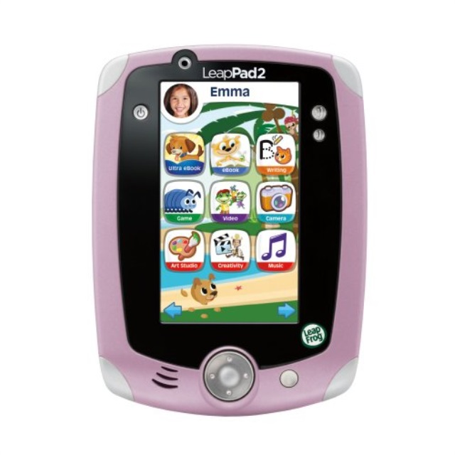 LeapFrog LeapPad2 Explorer Kids' Learning Tilet, Pink by