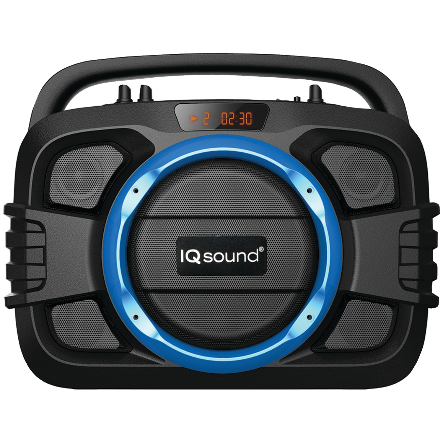 Supersonic Iq-2400bt- Blue Soundbox Toughneck Bluetooth Portable Audio System (blue)