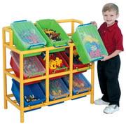 Children's Factory Tilt Bin Storage