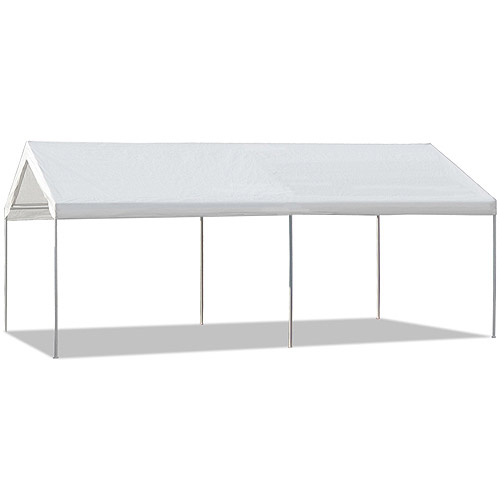 Caravan Canopy 10u0027x20u0027 Straight Leg Domain Carport (200 Sq. ft.  sc 1 st  Walmart & Caravan Canopy 10u0027x20u0027 Straight Leg Domain Carport (200 Sq. ft ...