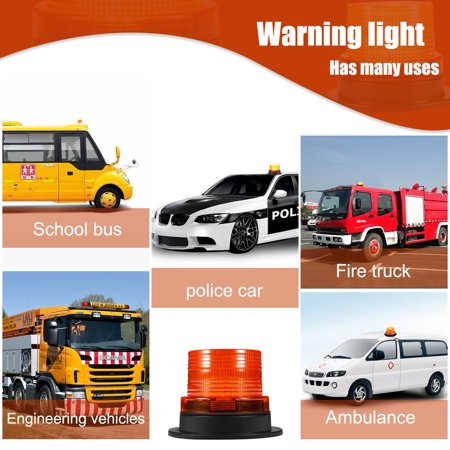 Waterproof 5730 20 led car truck led emergency strobe light magnetic waterproof 5730 20 led car truck led emergency strobe light magnetic warning beacon lights amber color aloadofball Gallery