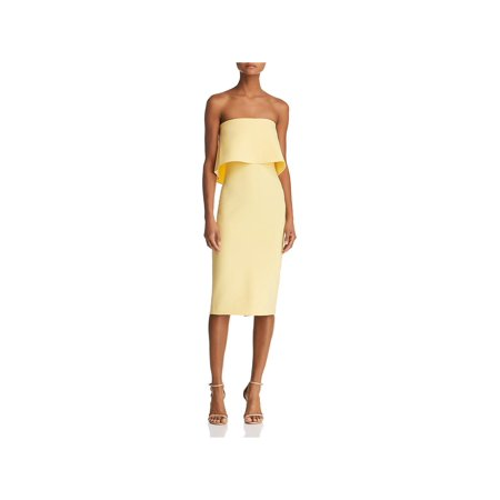 Likely Womens Driggs Strapless Sheath Cocktail Dress ()