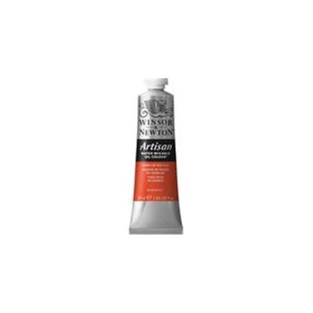 Winsor & Newton Artisan Water Mixable Oil Paint, Cadmium Red Hue