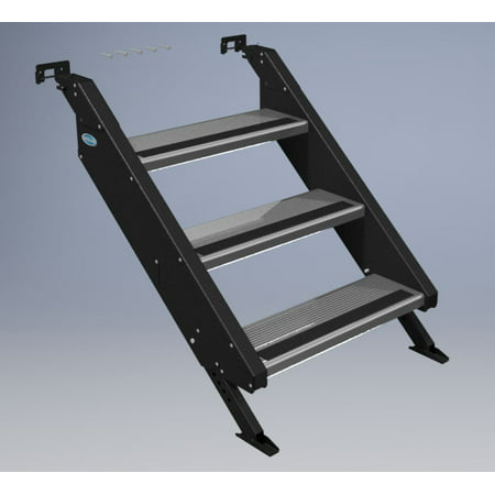 MOR/ryde STP54-010H Entry Step  3 Step; 27-1/2 Inch To 36 Inch Height; Removable - image 1 de 1