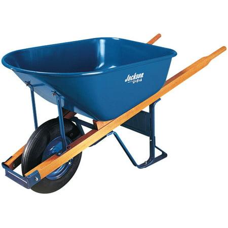 Image of Wheelbarrow 6 Cubic Feet Steel Flat Free Wheel