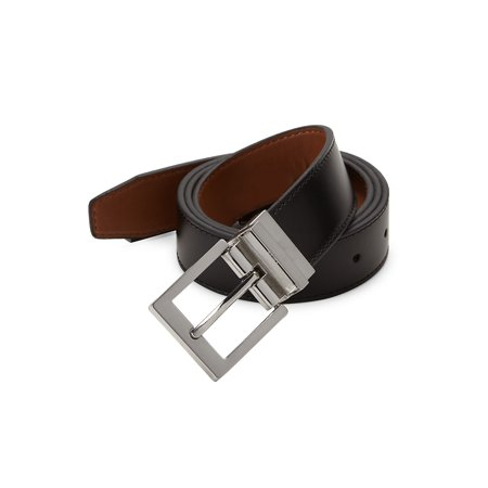 Box Calf Reversible Skinny Belt Belt Clothing Brands