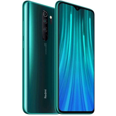 "Xiaomi Redmi Note 8 Pro 128GB, 6GB RAM 6.53"" LTE GSM 64MP Factory Unlocked Smartphone - Global Model (Forest Green)"