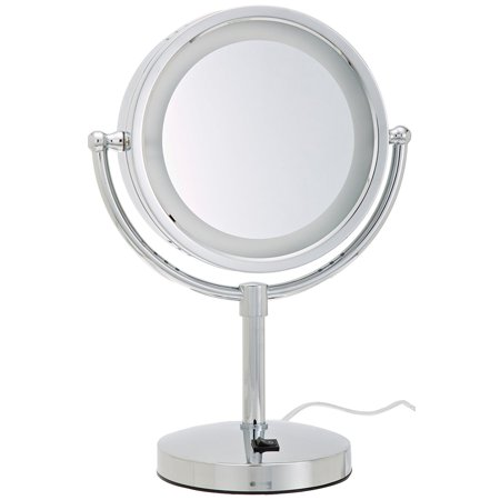 Hl745co 8 5 Inch Halo Lighted Vanity Mirror With 5x
