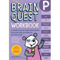 Brain Quest Workbook: Pre-K [With Stickers] (Paperback)