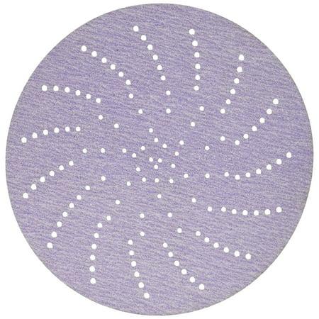 """3M 30475 Hookit Purple 5"""" P320 Grit Clean Sanding Disc"""