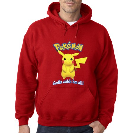 Pokemon Hoodies (562 - Hoodie Pokemon Go Gotta Catch 'Em All Pikachu)