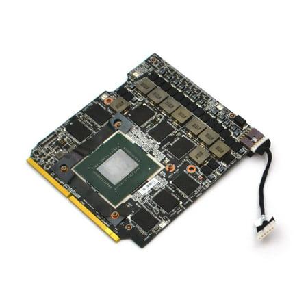 MS-1W1A1 MSI GT73VR 7RF Titan PRO Nvidia Geforce GTX 1080 8GB GDDR5X Video Card Laptop Video