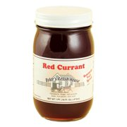 Byler's Relish House Homemade Amish Country Red Currant Jam Fruit Spread 16 oz.