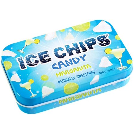 Hand Crafted Candy Tin Margarita Ice Chips Candy 1.76 oz Candy](Candy Craft Server)
