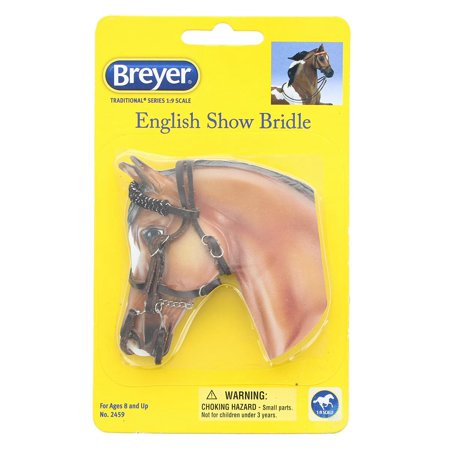 Breyer Traditional English Show Bridle Horse Toy Accessory (1:9 Scale) ()