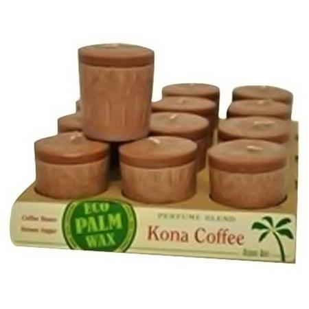 - Aloha Bay Perfume Blend Votive Candle, Kona Coffee - 2 Oz, 12 Ea