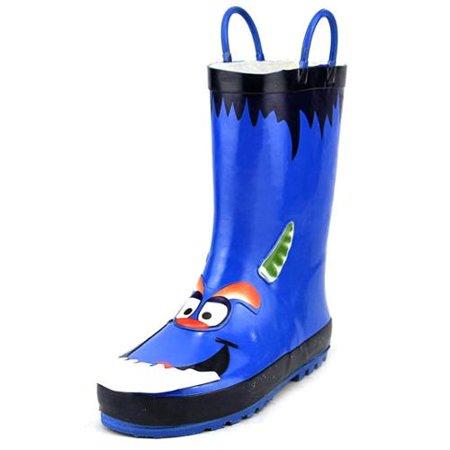 Monster Youth US 11 Blue Rain Boot UK 11 EU 29](Furry Monster Boots)