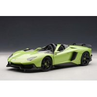 Lamborghini Aventador J Green 1/18 Diecast Car Model by AutoArt