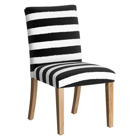 Skyline Furniture Dining Chair - Horizontal Brush Cabana Black