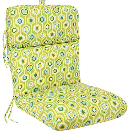 Deluxe Chair Cushion, Multiple Patterns