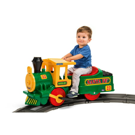 Peg Perego Santa Fe Train Battery Powered Riding Toy