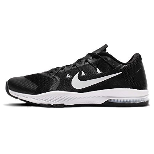 NIKE Men's Zoom Train Complete TB, Black/White, 11.5 M US