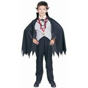 Child Classic Vampire Costume~Large 12-14   Black by