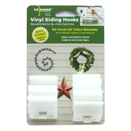 Emtek Products Hook - VZ Hang 7 Pack Vinyl Siding Hooks