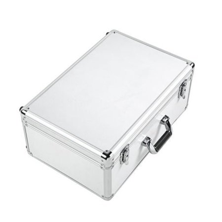 Aluminum Carrying Case for DJI Phantom 3 Professional, Phantom 3 Advanced,  Phantom 3 Standard, Phantom 3 4K Fits Extra Accessories
