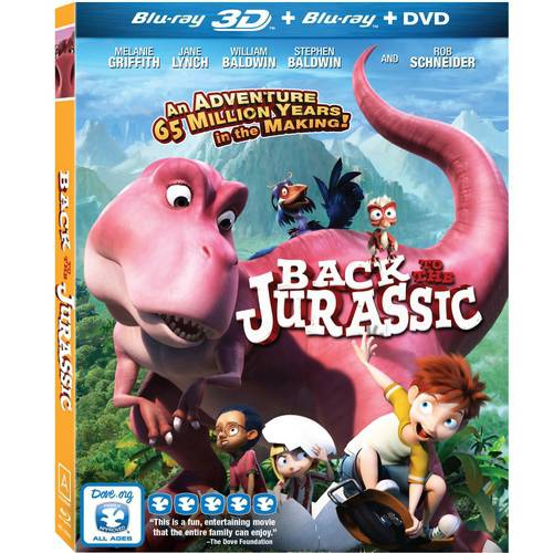 Back To The Jurassic (Blu-ray + DVD) by Vanguard Cinema