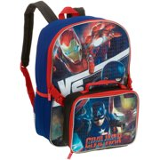 16 Backpack with Lunch Box