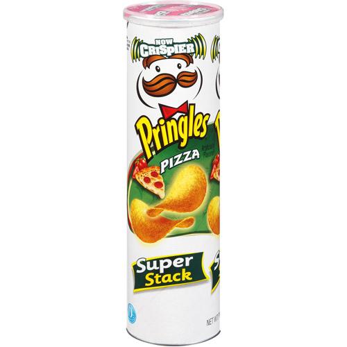 Pringles Super Stack Pizza Potato Crisps, 6.38 oz
