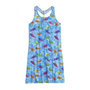 Girls Photoreal Fish Cover-Up Swimsuit