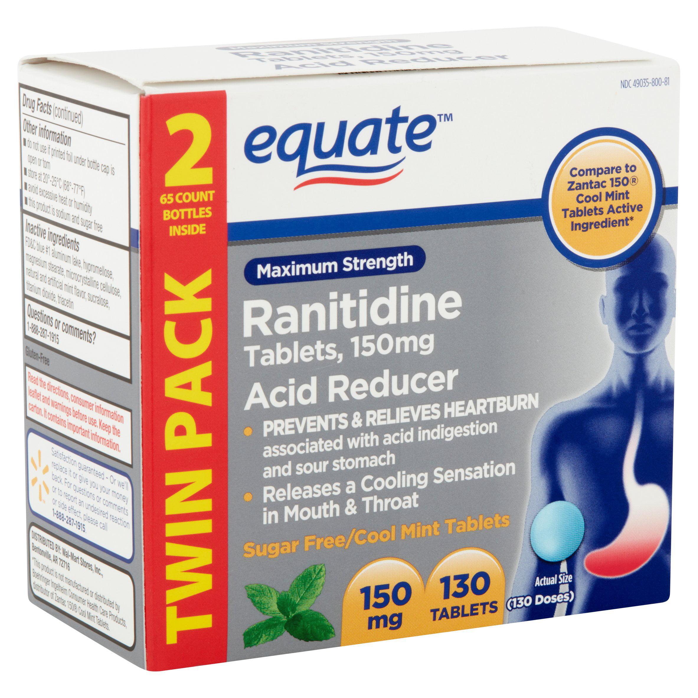 Zantac Label