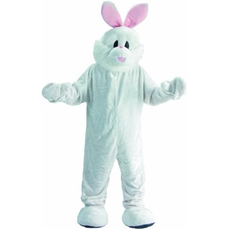 Cozy Easter Bunny Mascot Costume Set - Large 12-14