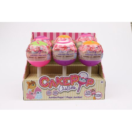 CakePop Cuties - Jumbo Cake Pops - Slow Foam Squishies - Ages 4+ - Halloween Cake Pop Ideas