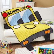 Herrschners Here Comes the Bus Crochet Afghan Kit
