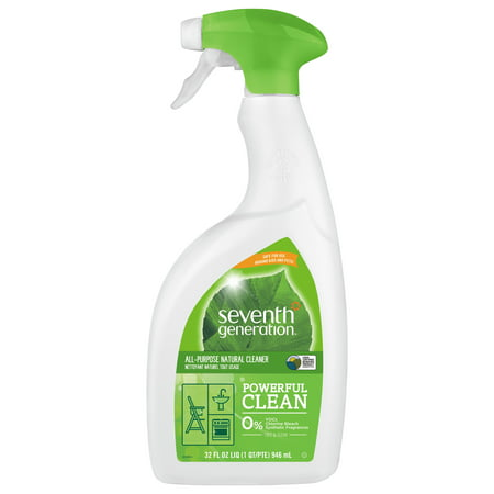 Seventh Generation Free & Clear All Purpose Cleaner Fragrance Free 32 oz