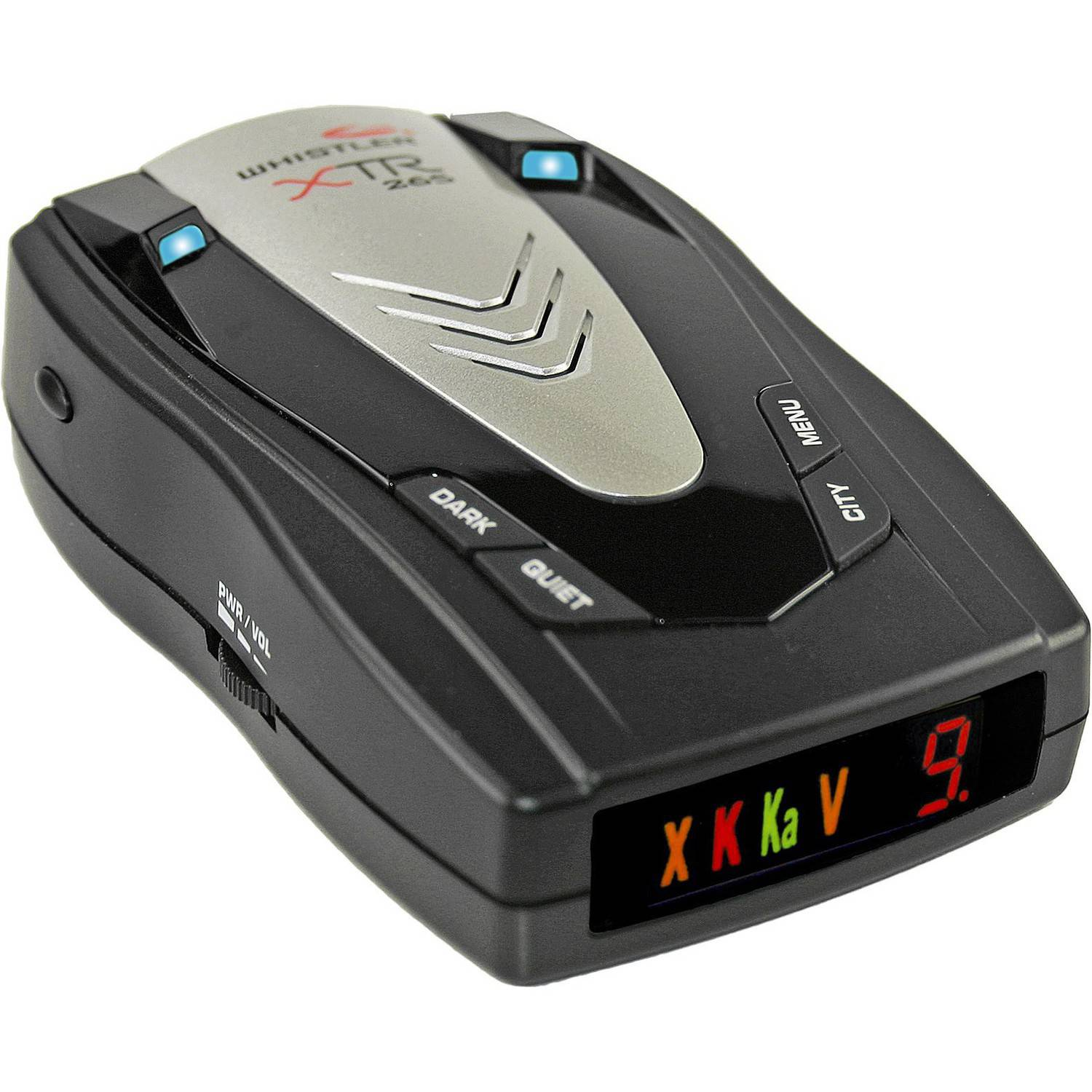 Whistler XTR-265 Radar/Laser Detector with Pop Mode Detection