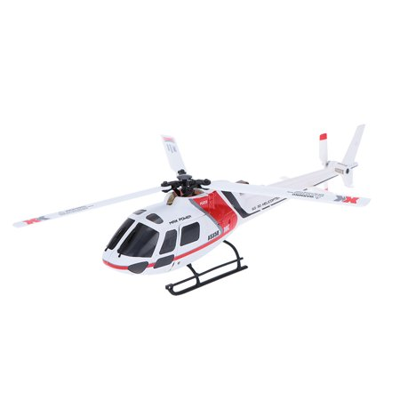 Helicopter Upgrade Metal Head (XK K123 6CH Brushless AS350 Scale 3D6G System RC Helicopter RTF Upgrade WLtoys V931 No remote control version )