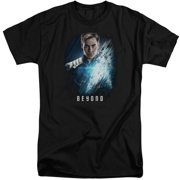 Star Trek Beyond Kirk Poster Mens Big And Tall Shirt