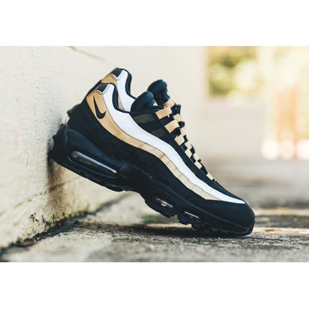 Nike Mens Nike Air Max 95 OG Black Metallic Gold AT2865