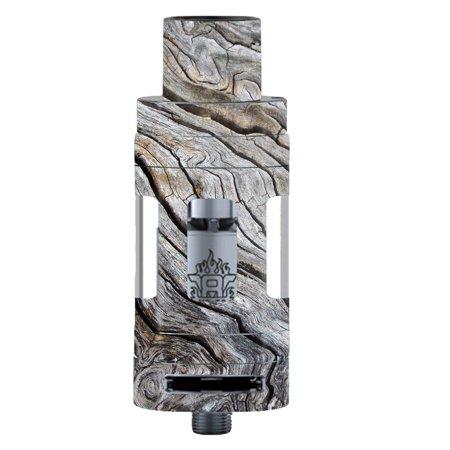 Drift Ski - Skin Decal For Smok Tfv8 Tank Vape Mod / Drift Wood Reclaimed Oak Log
