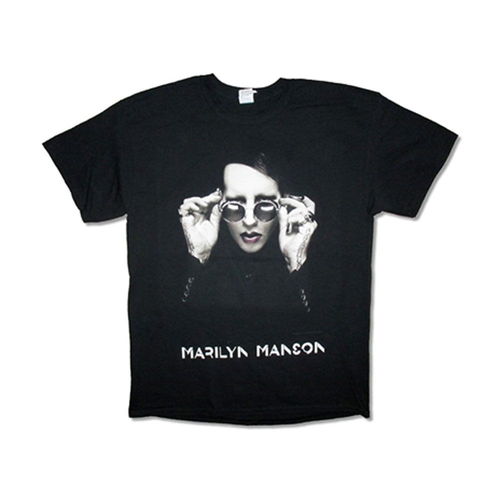 Marilyn Manson-Shades-2015 End Times Tour-Black T-shirt
