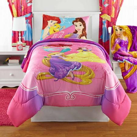 Disney S Princess Bedazzling Bed In Bag Bedding Set